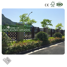 Eco- freindly Easy Install WPC Fencing picket fencing