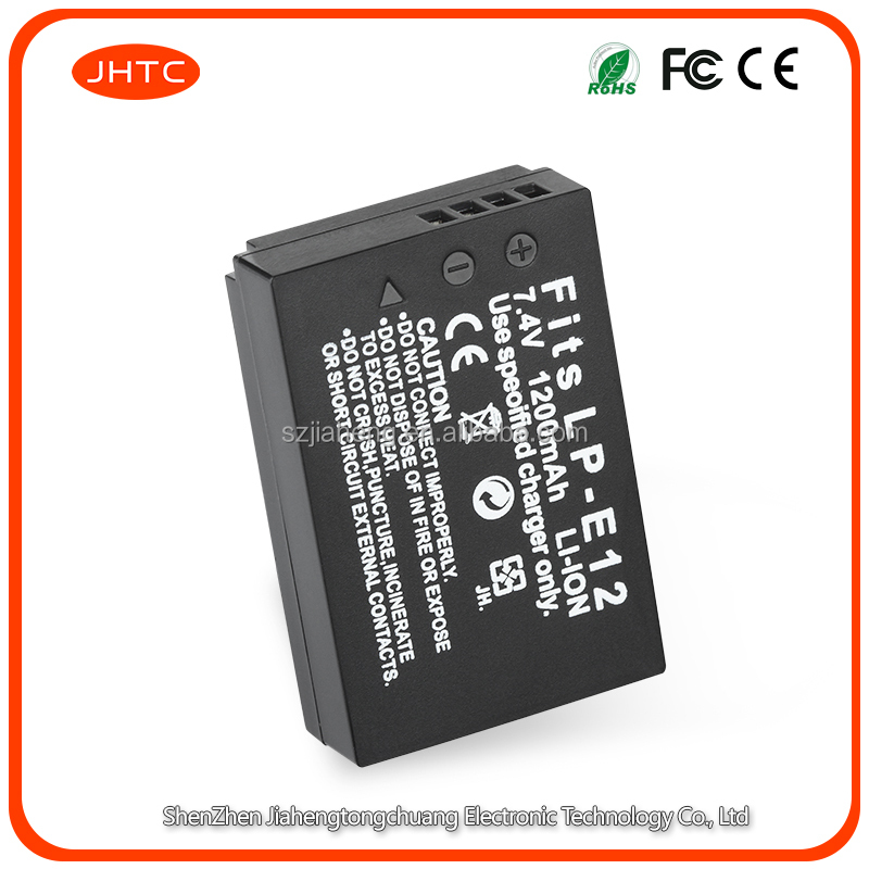 New battery EOS <strong>M100</strong> digital camera battery LP-E12 for canon camera accessories dslr