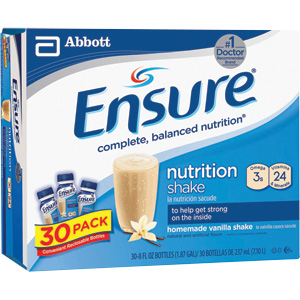Ensure Vanilla Nutrition Shake