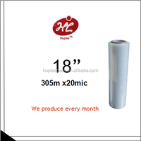 Pallet wrap film stretch rate 500%