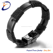The Genuine Leather Bracelet Hand Chain for Men