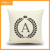 invisible zipper glow pillow high quality sublimation Cushion cover