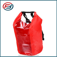 lightweight waterproof dry bag with shoulder strap