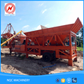 New brand customized 20T mobile harga concrete batching mixer