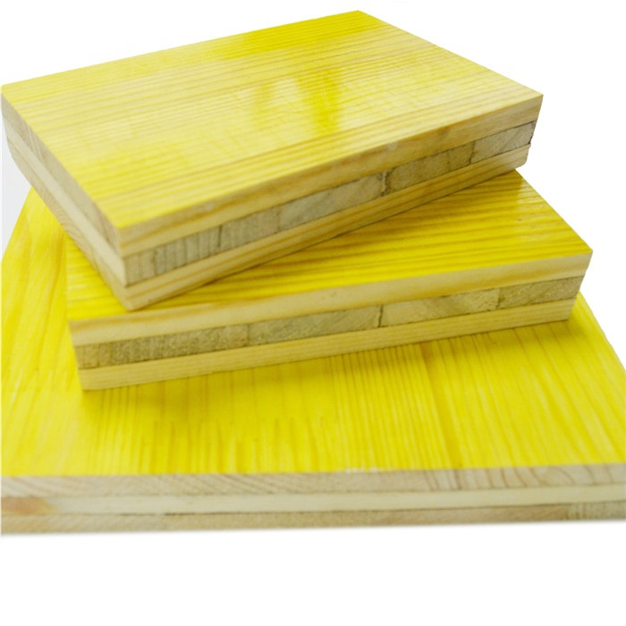 high quality 3-ply shuttering plywood with spruce pine and fir