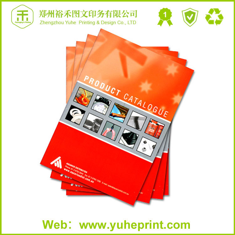 Sew binding glue and thread company advertising CMYK a4 offset printing product catalog sample