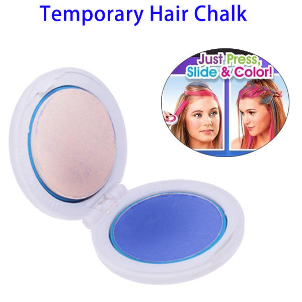 Latest Trending Products Non-toxic 4 Colors Hair Dye, Temporary Hair Chalk