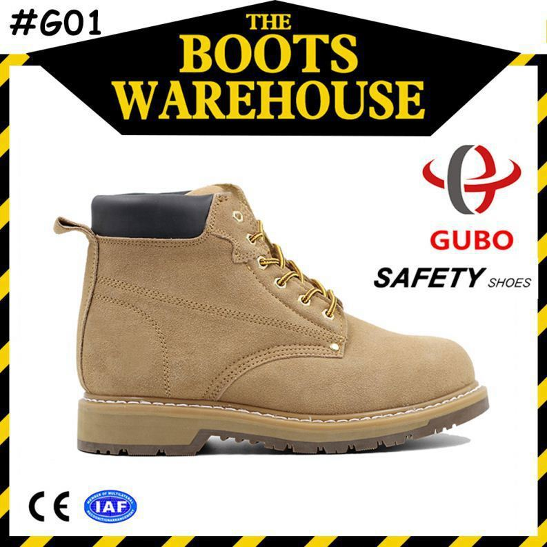 cheap price suede leather upper king safety shoes sole