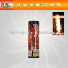 60seconds 8m meters smokeless and no smell cold stage fountain fireworks for wedding(MCF608)