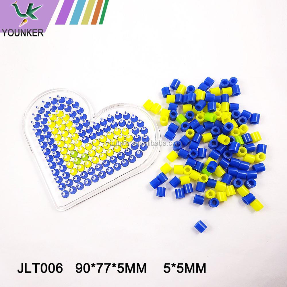 Factory directly sale various shapesDIY educational toys for children mini hama perler beads