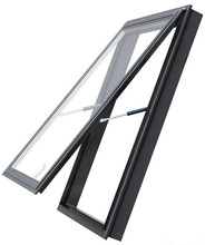 Roof Skylight Aluminum Glass Window With Blind