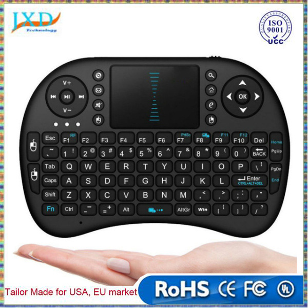 Portable mini Rii i8 Wireless Bluetooth 2.4G Keyboard with Touchpad