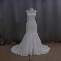 Factory outlet see through tulle red velvet wedding dresses