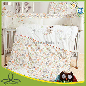 100% cotton baby bedding set
