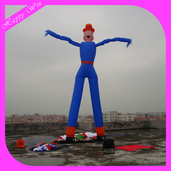 7m Inflatable 2 legs air dancer/sky dancer with 2 legs for event