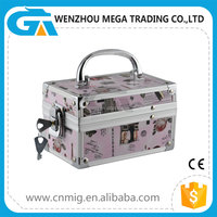 Small Size High Quality Aluminum Custom Vanity Case and Box