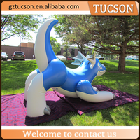 giant PVC inflatable dragon/inflatable dinosaur for advertising