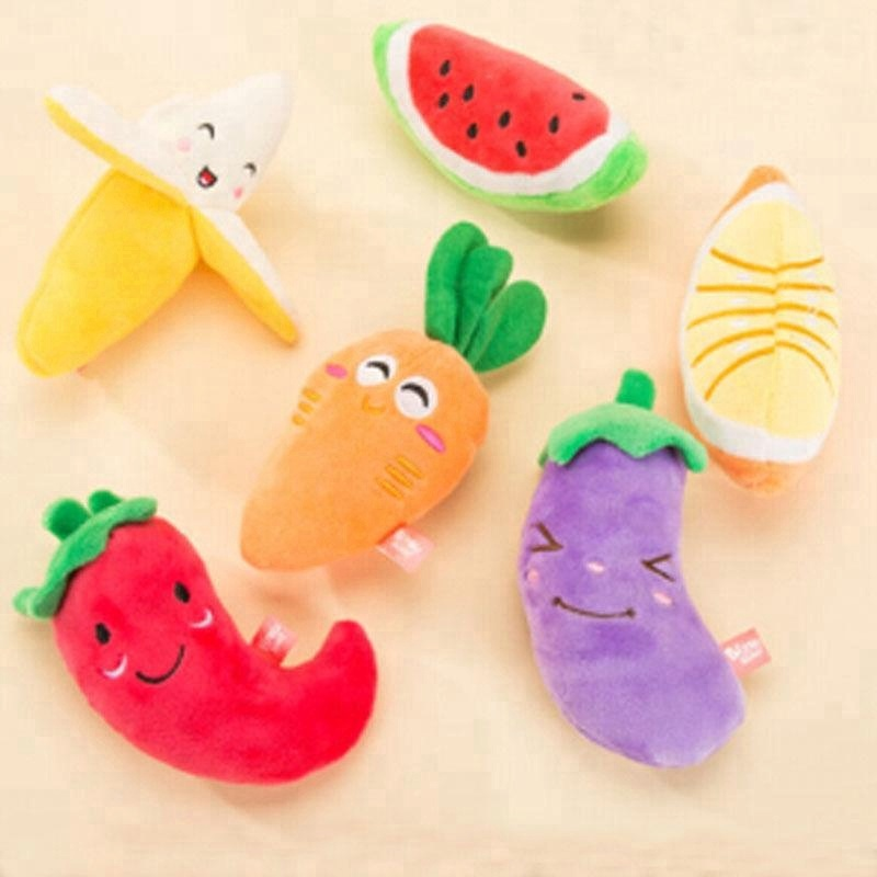 Fashion Useful Pet Products Dog Toys Pets Puppy Chew Plush Sound Cute Toys New AC6011