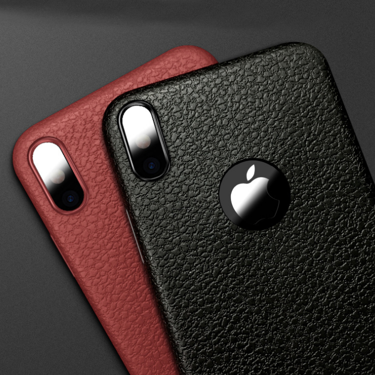 Business style TPU case phone cover for iPhone X case matte, for iPhone X TPU protector