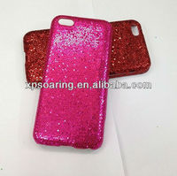 Sparkling hard shell case for iphone 5C