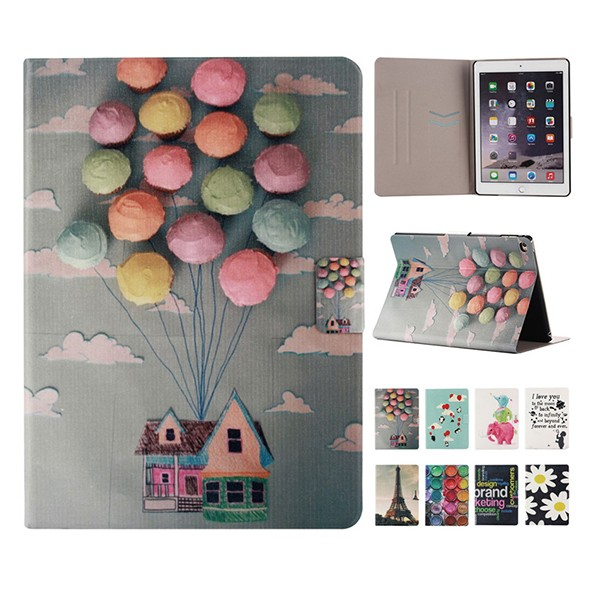 OEM Drawing Printing PU Leather Tablet Case for Ipad Smart Cover TPU in Wholesal Factory Price