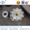 ISO DIN standard pitch 50.8mm duplex roller chain 30T idler sprocket
