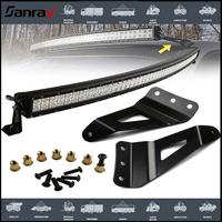 led lamp mount bracket for car led car bar light w-rangler FJ Cruiser