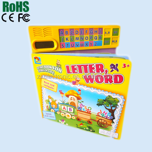 Talking book for English learning for Kids