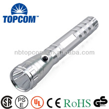 silver color aluminum power cree led light torch led TP-1862