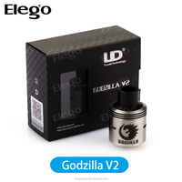 Elego hot selling products UD Godzilla V2 RDA ,rebuildable dripping atomizer