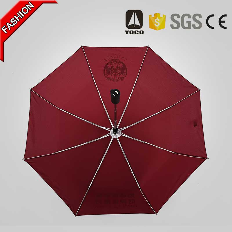 Totes Unbreakable Windproof Collapsible Umbrella With Teflon