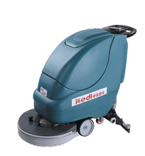 walk behind electric industrial floor scrubber, sweeper