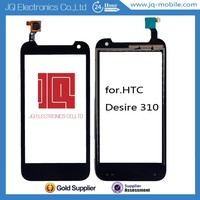 All tested before shipping mobile phone LCDs digitizer touch screen panel for Htc Desire 310