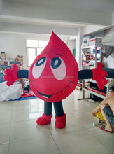 inflatable walking cartoon Blood Drop, Inflatable water drop mascot costume