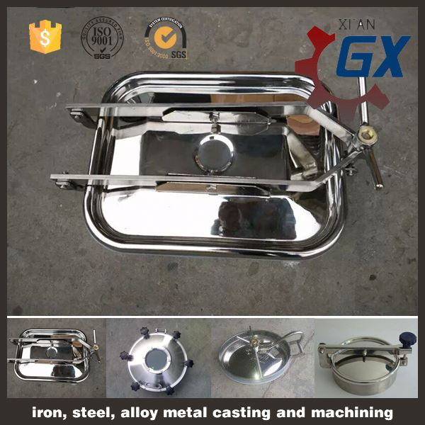 GX series sanitary stainless steel pressure manhole