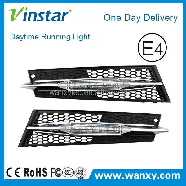 DRL 100% Waterproof 12V LED Auto Car Daytime Running Lights With Dimmer Dimming Style For BME92 LCI COUPE