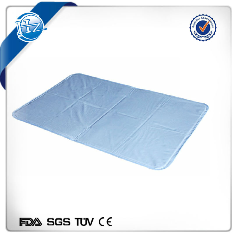 Resuable soft gel cooling mattress pad cool bed pad