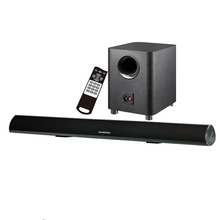 Bluetooth sound bar 2.1 with Optical input and subwoofer for home theater