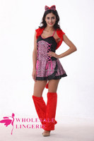 Popular Frisky Kitty Cat Costume sexy cheshire cat costume to party