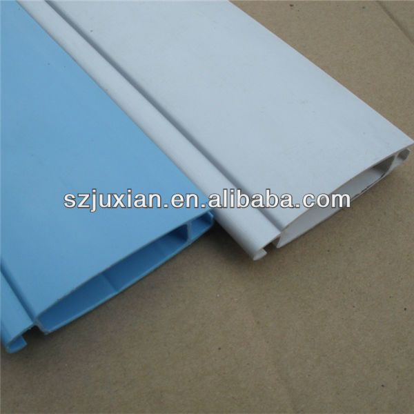 custom plastic profile pvc/abs/pc/pe/ps/pmma extrude profiles