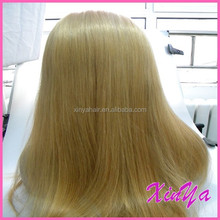 "Tangle Free High Quality 130% density 10""-30"" lace wigs for white people"