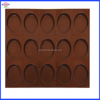 Round cup cake baking mould, carbon steel pancake baking pan