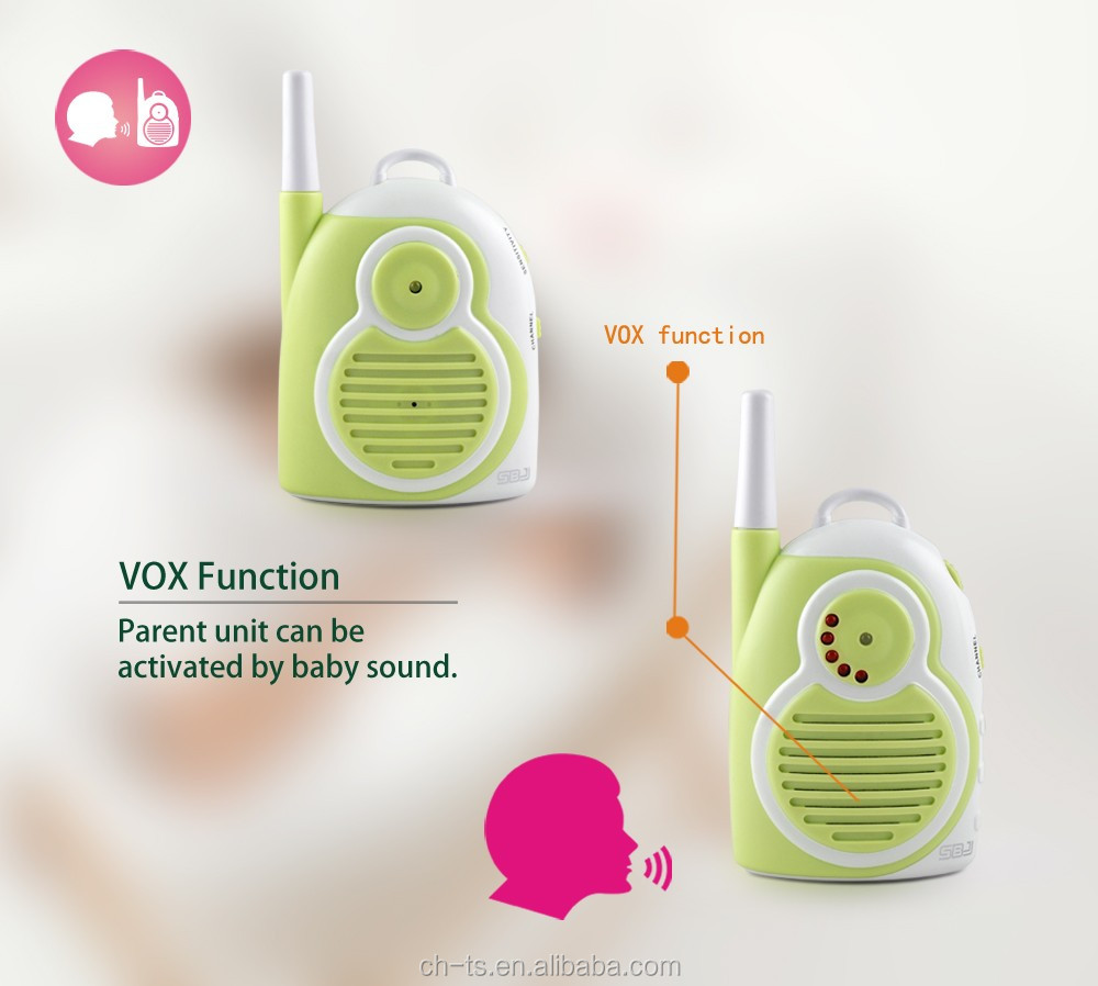 1300m long talking range Audio wireless Baby Monitor