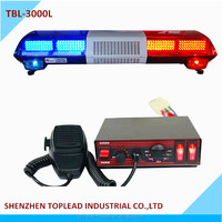 CE Certification and 12V Voltage LED Strobe Warning Light Bar Flashing Light Police Emergency Light Bar for Truck tow