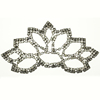 Ladies Bling Rhinestone Shoe Buckle Crystal