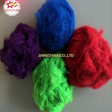 Regenerated polyester fiber(PSF)colored,virgin and recycled polyester staple fiber for filling,yarn