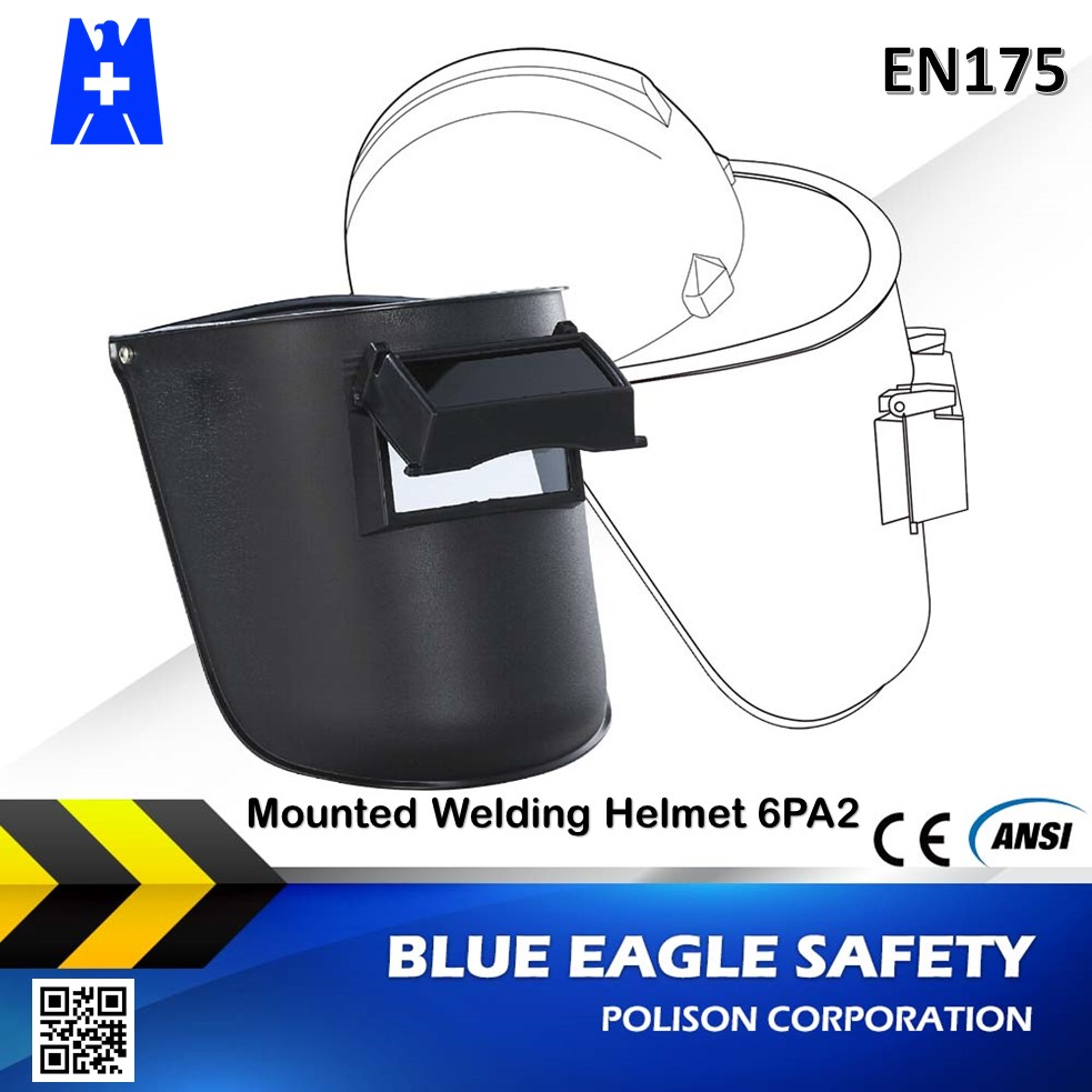 Welding & Soldering Supplies 6PA2 ce en175 Mounted Welding Helmet with ABS bracket