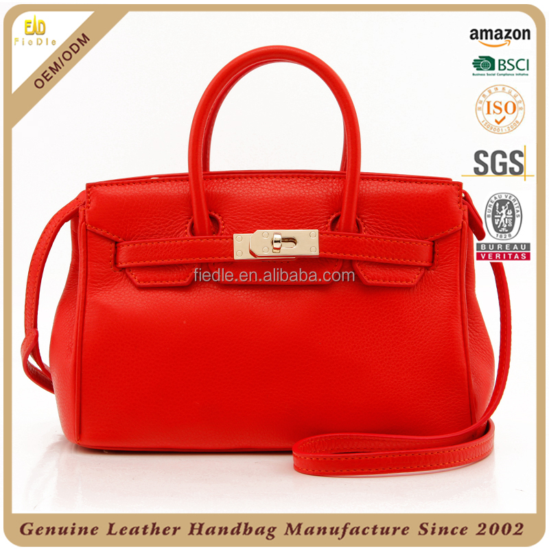 CSS1709-001 Hotsale leather handbag women Brand designer mini lock bag Latest leather handbag for ladies