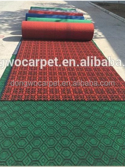 High quality Hot Sale Velour Jacquard Carpet at Attractive price ,Double color and single color jacquard floor carpet