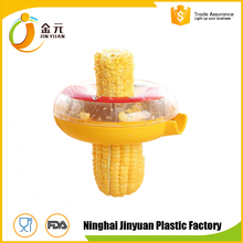 Round stainless steel Blade Plastic Housing Corn Cutter Kitchen Accessories Cooking Tools Corn Stripper